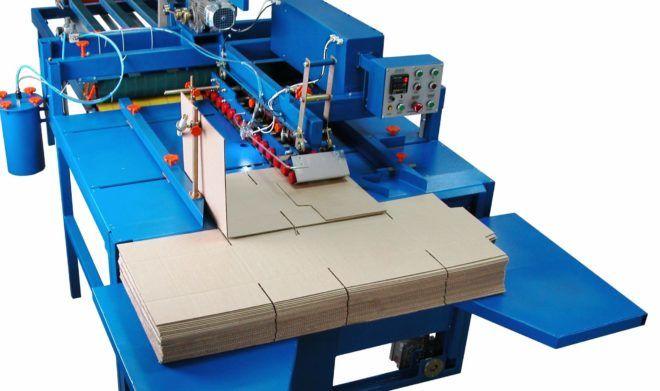 Автоматическая линия для производства картонных коробок