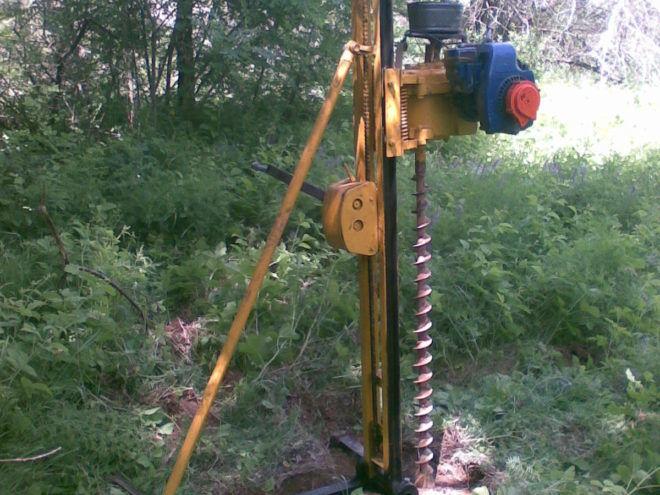 Стационарная установка для роторного бурения скважин