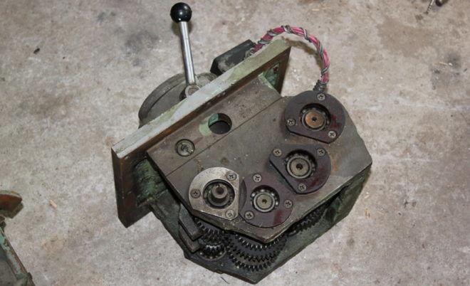 Коробка скоростей фрезерного станка 675П