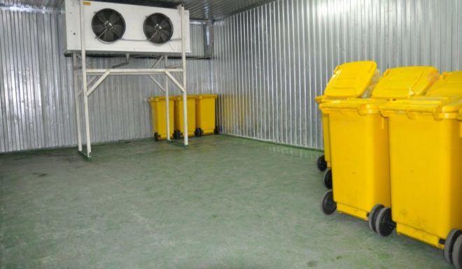 Холодильная установка для медицинских отходов