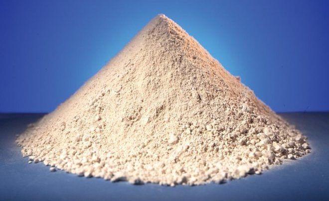 Каолиновая белая глина