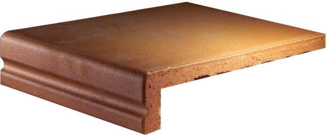 Клинкерная плитка со свесом для укладки крыльца