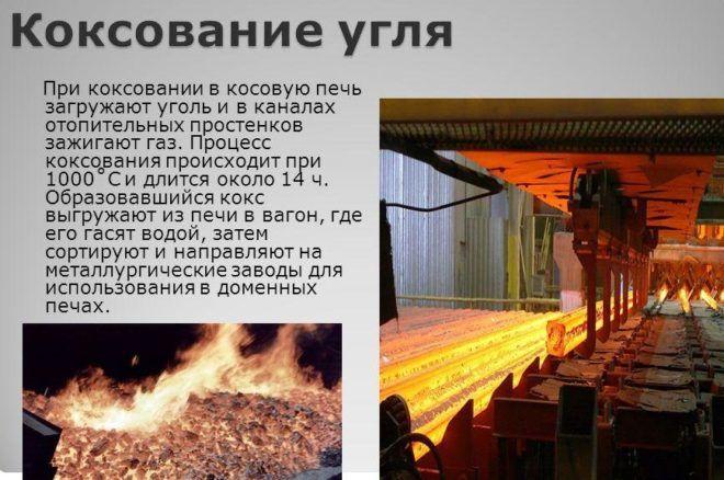 Коксование угля