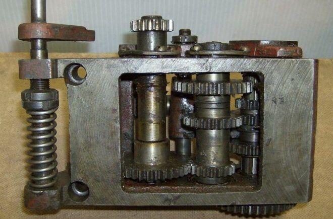 Коробка подач станка