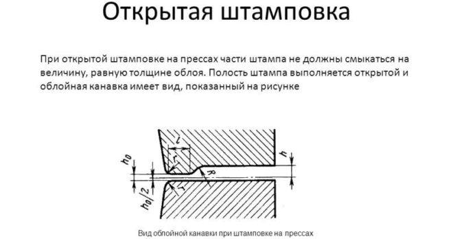 Открытая горячая штамповка