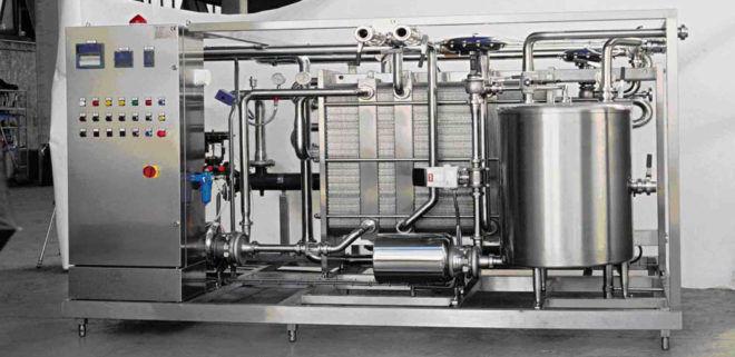 Пастеризация молока на производстве