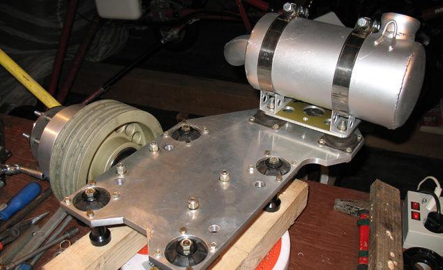 Подмоторная плита для двигателя