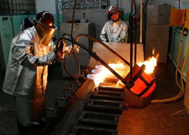 Промышленность по обработке цветных металлов