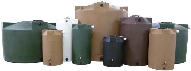 Резервуары из полиэтилена