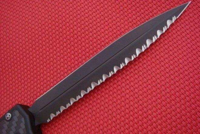 Заточка серейторного ножа своими руками