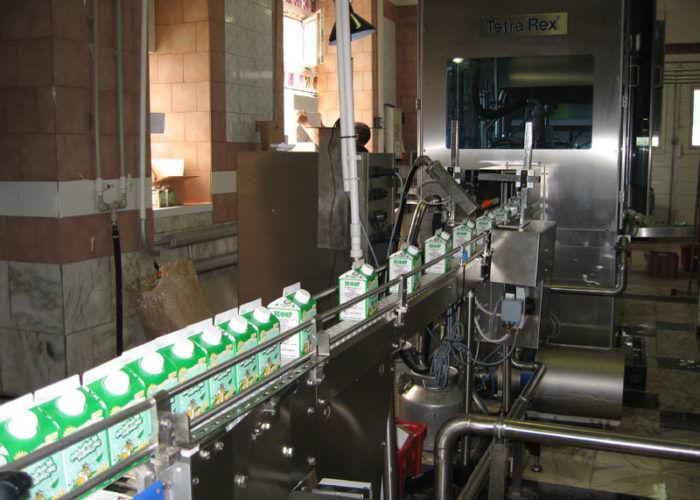 Цех производства кисломолочной продукции