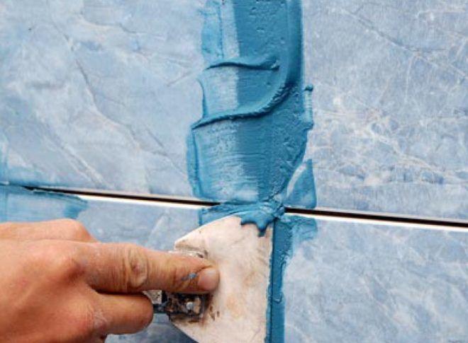 Технология нанесения затирки для плитки