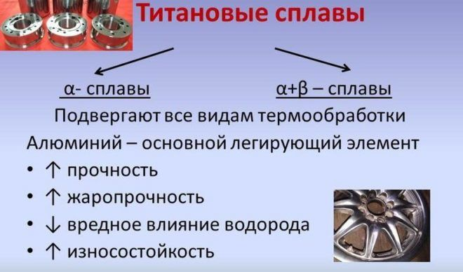 Титановые сплавы