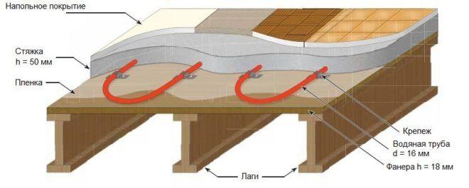 Модульная деревянная конструкция