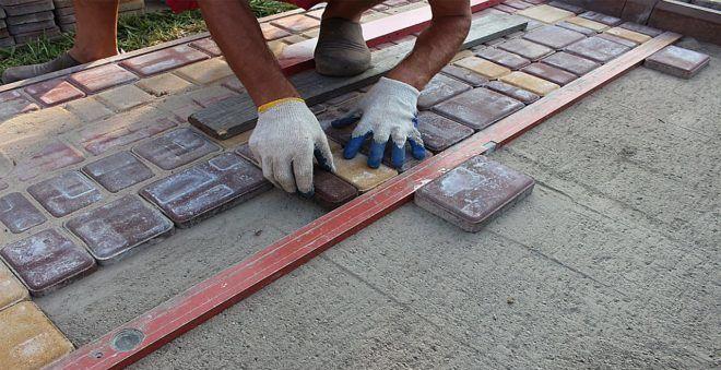 Как сделать в домашних условиях плитку уличную