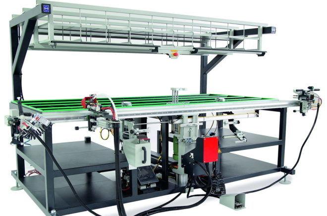 Универсальное оборудование для производства пластиковых окон