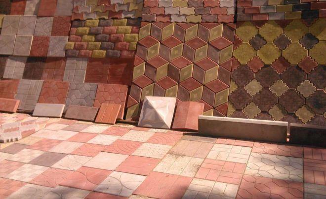 Варианты плитки