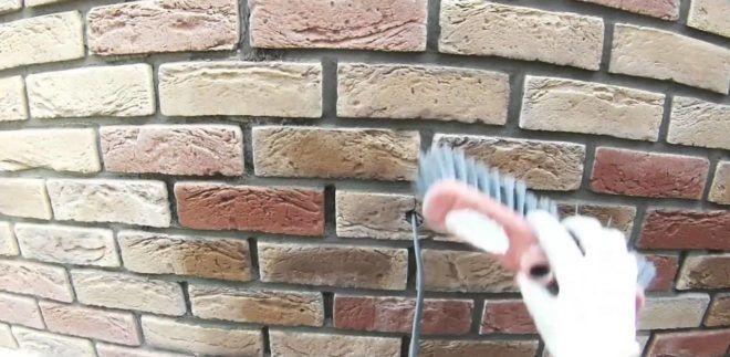 Затирка швов декоративной плитки