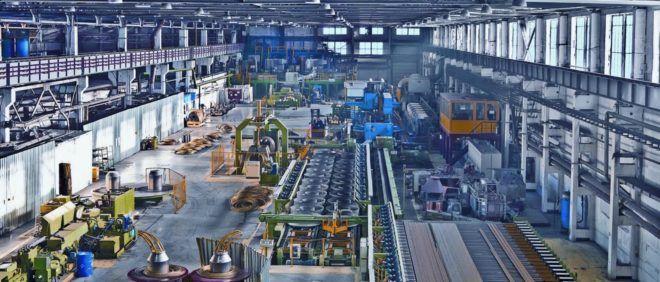 Завод по переработке мебели