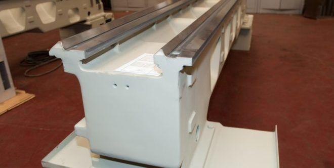 Для станины берется материал, сделанный из алюминия.