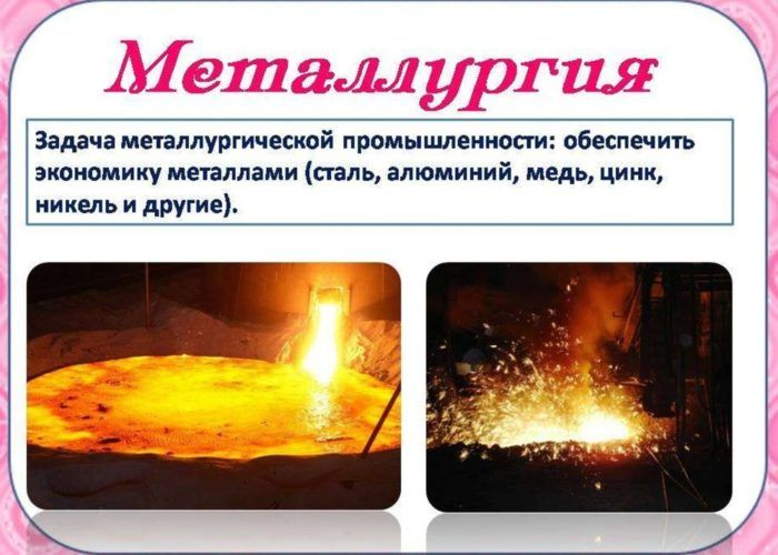 Какая бывает металлургия