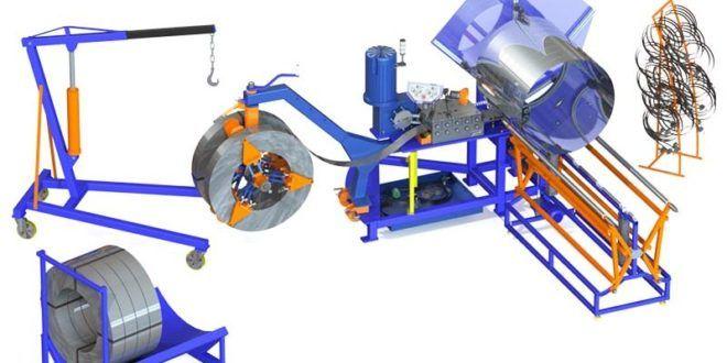 Виды оборудования для производства воздуховодов