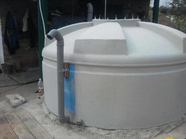 Биотоплевная подземная установка