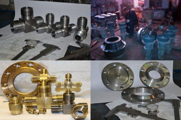 Изготовление деталей и сборка узлов и механизмов