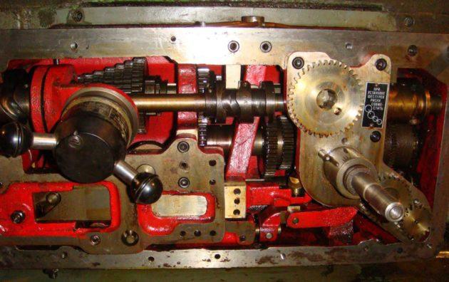 Коробка скоростей токарного станка 1и611п