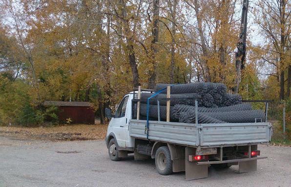 Необходимо позаботиться о доставке готового материала