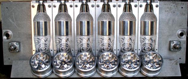 Пресс-формы ПЭТ бутылок