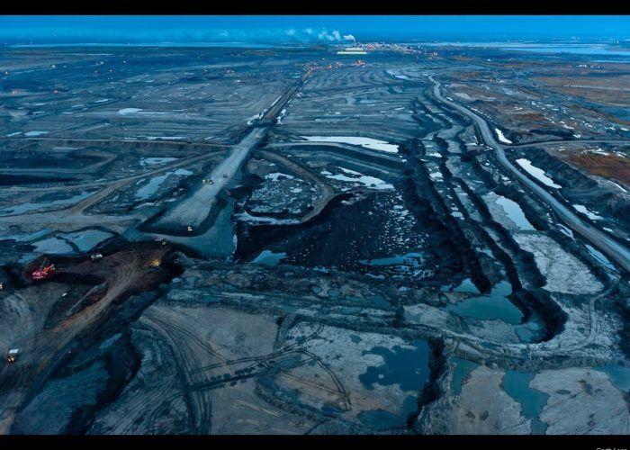 Природная добыча нефти