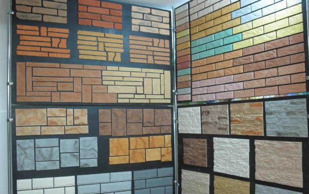 Разновидности гипсовой плитки