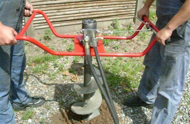 Ручное бурение скважин на воду