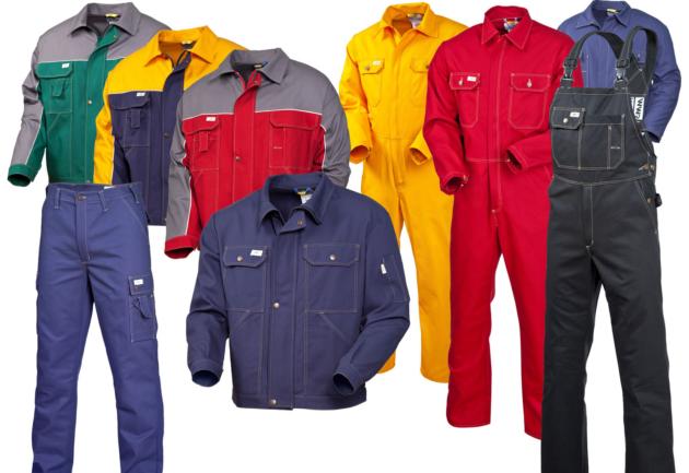 Специальная одежда для работы на агрегате