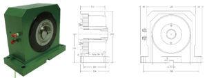 Цанговый пневматический патрон для токарного станка