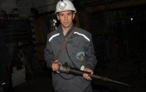 Отбойный молоток для чистки угля