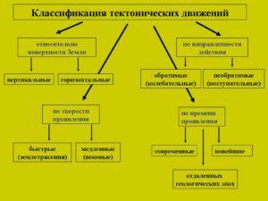 Тектонические движения