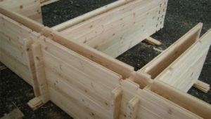 Использование теплого бруса для строительства стен дома