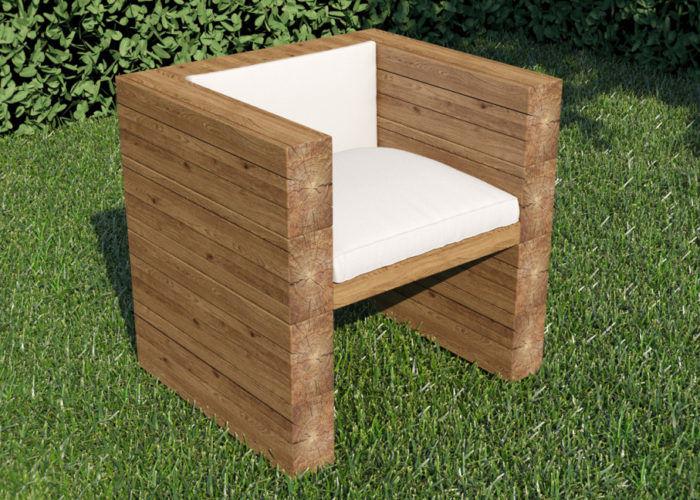 Деревянные кресла для дачи своими руками 48