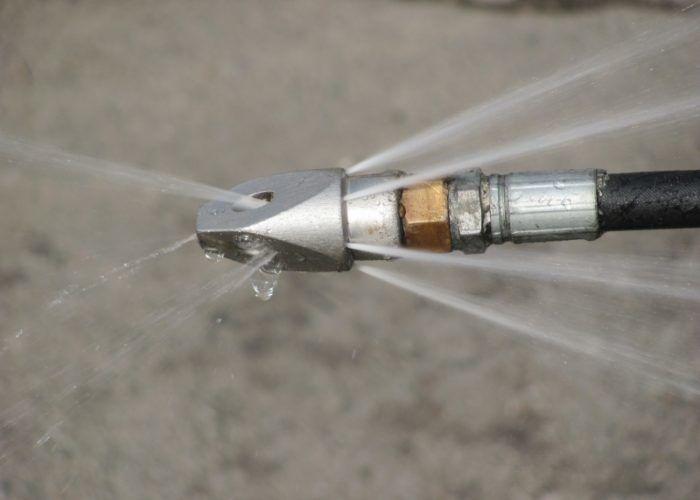 Гидродинамическая чистка трубопроводов