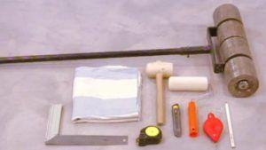 Инструмент для монтажа пробкового покрытия