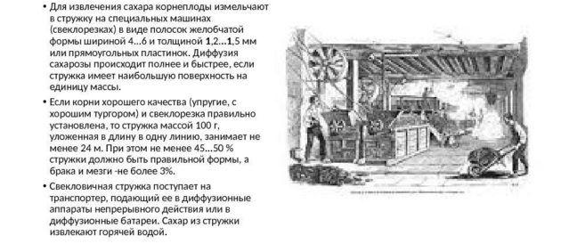 Обработка сахарной свеклы