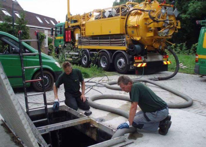 Очистка канализационно-насосных станций, отстойников