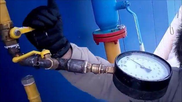 Опрессовка газопровода