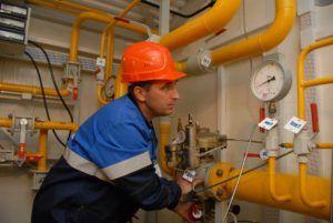 Процесс пуски газа