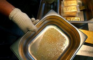 Процессы получения золота