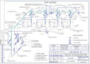 Схема газопровода