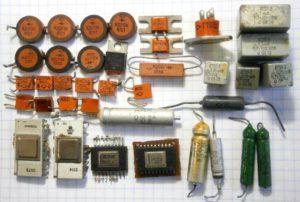 Содержание золота в радиодеталях