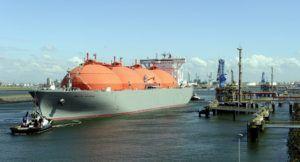 Транспортировка природного газа по морю